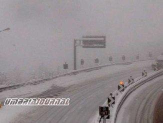 Neve, cala fenomeno resta filtraggio mezzi sulla E45 tratto Verghereto