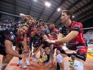 Volley, Sir Safety, Perugia da impazzire 3-1 a Civitanova LE FOTO E INTERVISTE