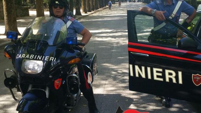 Parchi a rischio spaccio a Terni, controlli dei Carabinieri, una denuncia