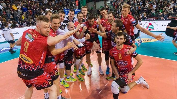 Sir Sicoma Perugia batte Novosibirsk, andata dei playoff 6 di Champions