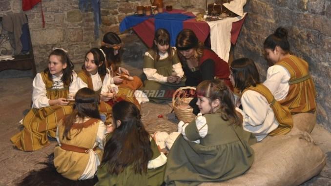 Vita medievale Magnifico Rione di Porta Sant'Angelo Perugia 1416