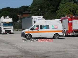 Incidente stradale sulla E45 a Ponte San Giovanni, illesi i due bimbi coinvolti