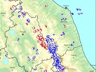 Terremoto a Muccia, è 4.6 la scossa delle 5, aggiornamento, i dati INGV