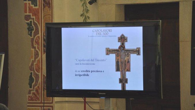 Mostra capolavori del 300 a Spoleto, grande valore culturale per territorio
