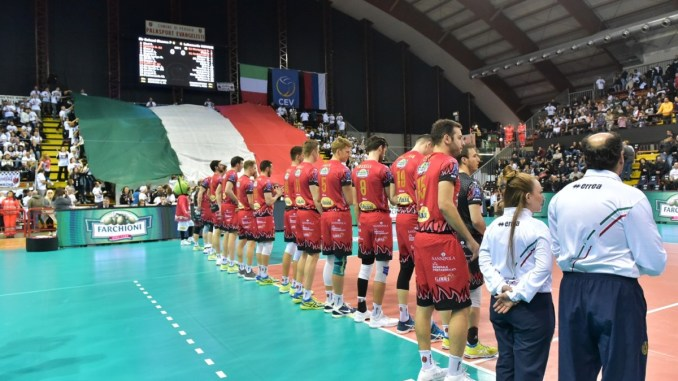 Champions League off, Superlega on per Sir Sicoma c'è gara 3 di semifinale