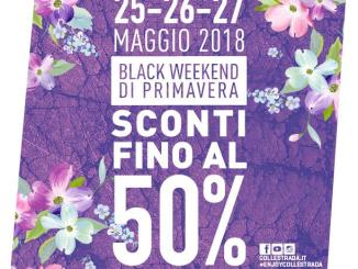 Super weekend a Collestrada, sconti & show nel cuore commerciale