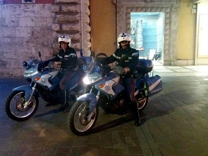 Estate sicura a Terni, al via i controlli con pattuglie auto, moto-montate