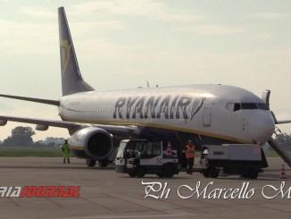 Volo da Perugia a Malta, Ryanair, volo cancellato causa forte vento