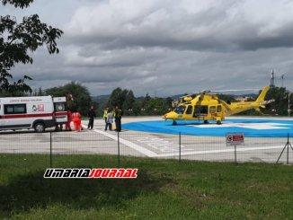 Operaio cade dal tetto, arrivato in ospedale con Icaro è in rianimazione