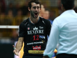 Volley, Sir Safety, Gianluca Galassi veste bianconero