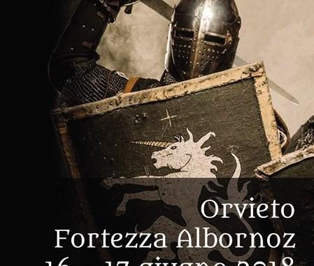 """Orvieto 1264, la 2^ edizione """"Ludi alla Fortezza"""" ispirata a Dante Alighieri"""