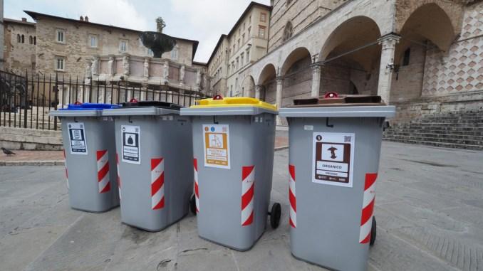 Raccolta differenziata a Perugia da record, organico purezza al 98 per cento