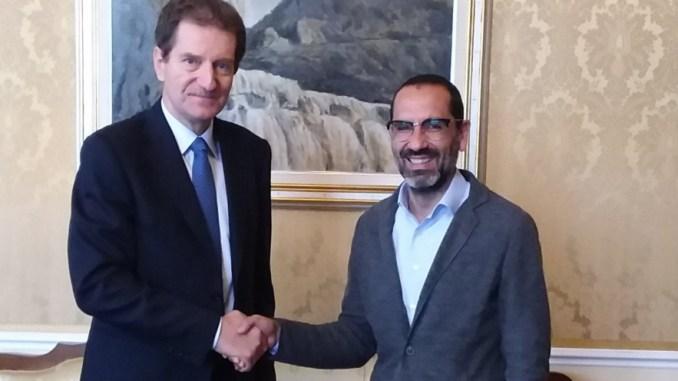 Il Prefetto di Terni riceve il neo sindaco, Leonardo Latini