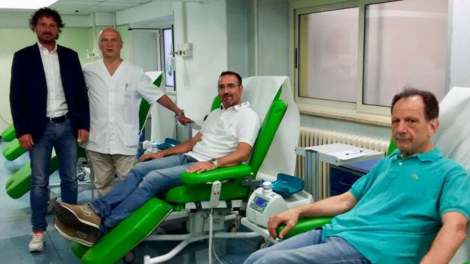 Ordine degli ingegneri di Terni, donazioni di sanguetra gli iscritti