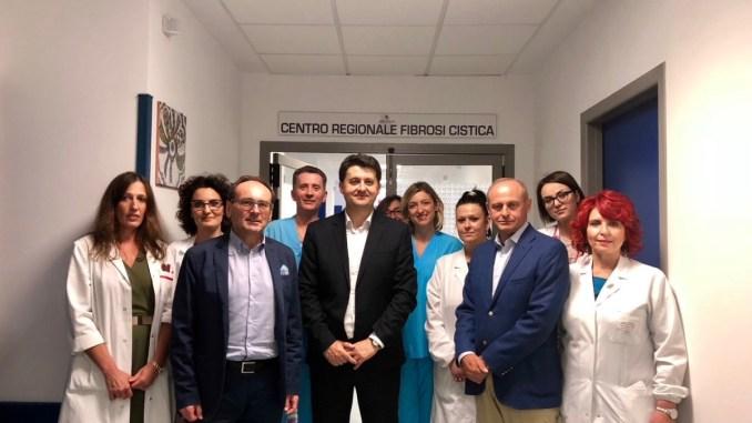 Centro regionale fibrosi cistica, inaugurazione, Barberini, ospedale cresciuto