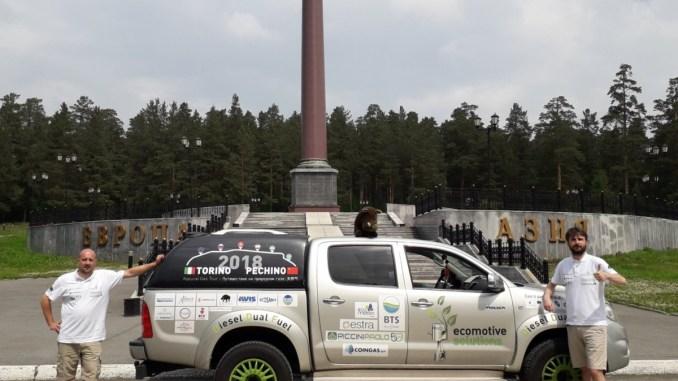 Diesel metano, chi è che non ci crede? La Torino-Pechino è in Asia