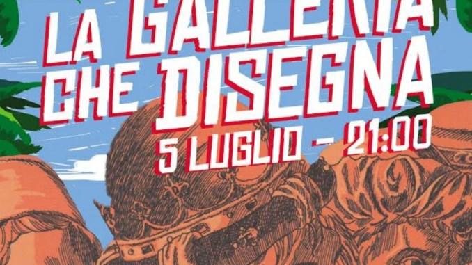 Fumetti nei Musei e Live Drawing alla Galleria Nazionale dell'Umbria
