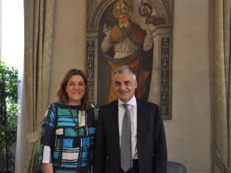 Ricevuto a Palazzo Donini nuovo Prefetto di Perugia, Carlo Sgaraglia