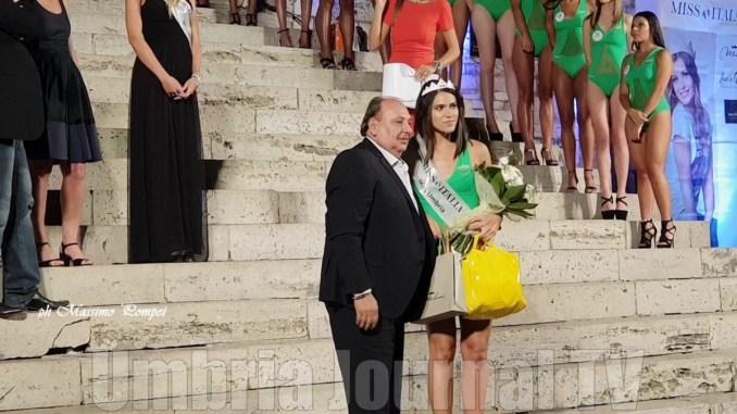 Miss Umbria 2018, Gaia Gattavecchi è la più bella, aveva vinto anche a Bettona