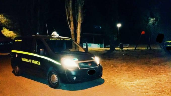 Blitz finanza al parco Chico Mendez, zona verde passata al setaccio, arrivano nuove luci