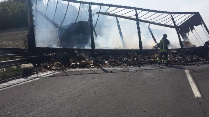 Incidente tra Orvieto e Fabro, scontro tra auto e mezzo pesante, due morti