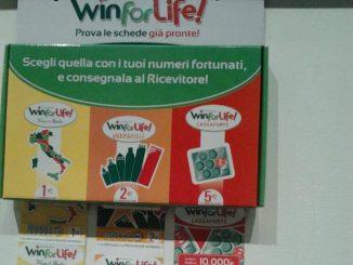 Gioca 2 euro a Win for life e vince 3 mila euro al mese per 20 anni