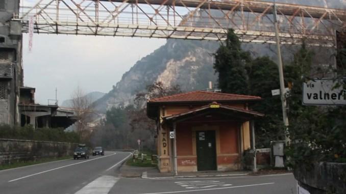 Telfer di Terni perde i pezzi, sopralluogo Vigili del fuoco e chiusa strada Valnerina