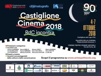 Castiglione Cinema 2018, Trasimeno capitale del cinema