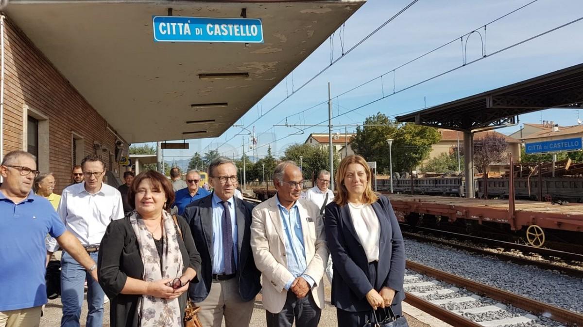 Trasporti, l'Umbria avrà la sua grande ferrovia, oggi l'inaugurazione
