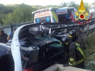Incidente mortale in autostrada A1, donna perde la vita