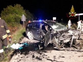 Incidente stradale a Città di Castello, due feriti nello scontro tra due auto