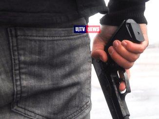 Rapine in tabaccherie e sale scommesse con pistole e taser, presi in 14