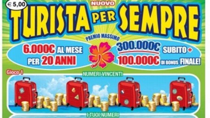 """Gratta e vinci, a Perugia Vinti 50 mila euro con biglietto """"Nuovo turista per sempre"""""""