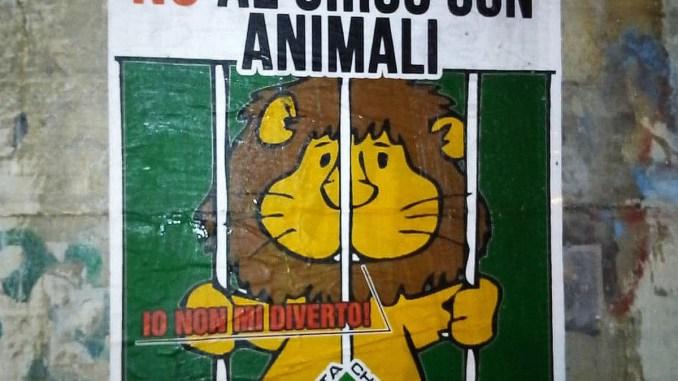 La foresta che avanza, protesta per l'arrivo a Terni del circo con animali
