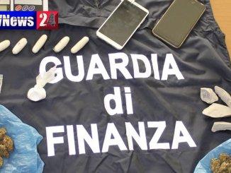 Marijuana ed eroina sequestrate dalla Finanza di Terni, arresto e denuncia