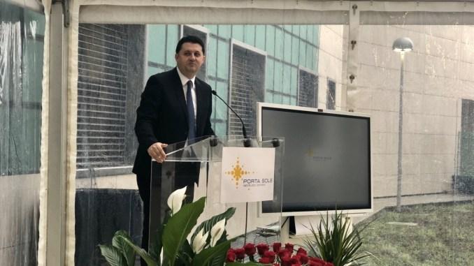 Inaugurata Nuova Clinica Porta Sole, Barberini, una straordinaria impresa