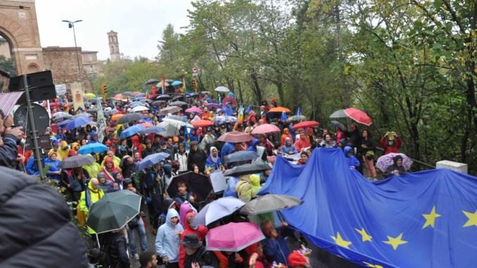 PerugiAssisi, presidente Marini, anche oggi c'è bisogno della migliore gioventù
