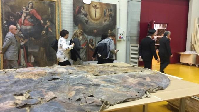 Deposito Santo Chiodo, sottosegretario Vacca, ricostruire grande patrimonio artistico
