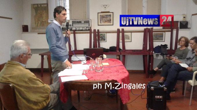 Andrea Romizi sindaco di Perugia incontra i cittadini di Corso Garibaldi