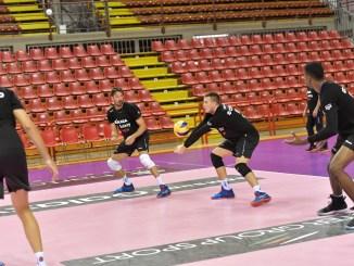 Supercoppa, allenamento pomeridiano al Pala Barton per Sir Safety Conad Perugia