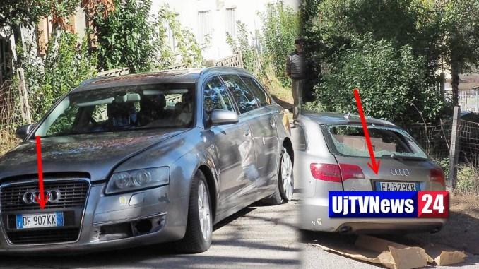 Sparatoria Ponte Felcino, l'Audi A6 rubata aveva due targhe diverse