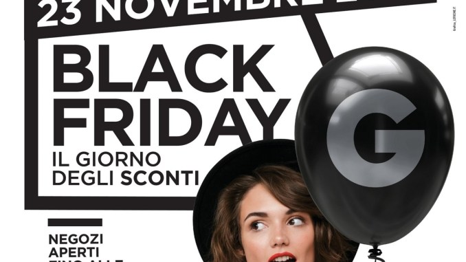 Black friday, il 23 novembre anche al Gherlinda di Ellera