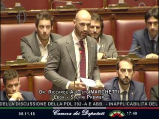 """""""Dalla parte delle vittime"""", intervento alla camera del deputato Marchetti (Lega)"""