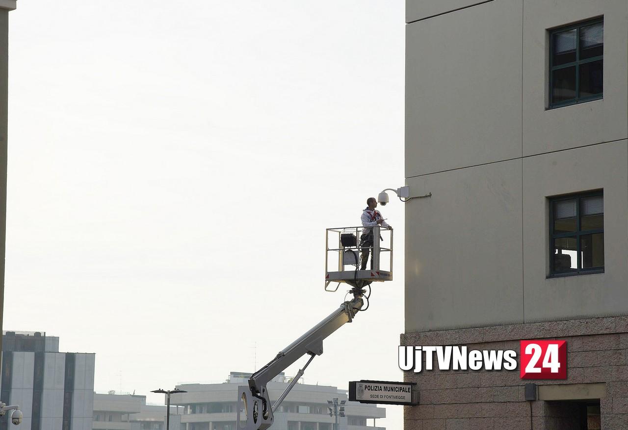 Attive nuove telecamere a Fontivegge, inaugurato impianto di videosorveglianza