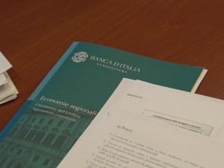 Banca d'Italia, attività economica in Umbria, crescere a ritmi moderati