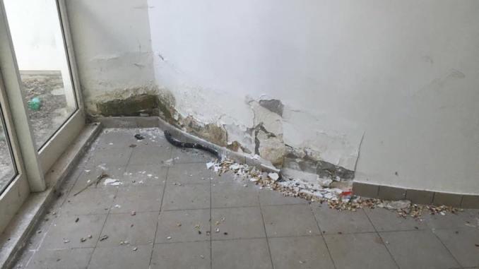 Casa delle Musiche a Terni, struttura sempre più abbandonata