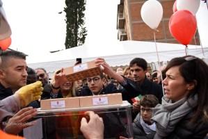 Posa della prima pietra scuola Carducci-Purgotti, le foto