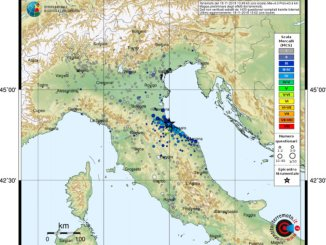 Forte scossa diterremoto in Emilia Romagna, avvertita anche in Umbria