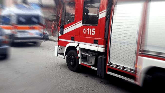 Schianto a Stroncone, un ferito nell'incidente tra auto e mezzo pesante