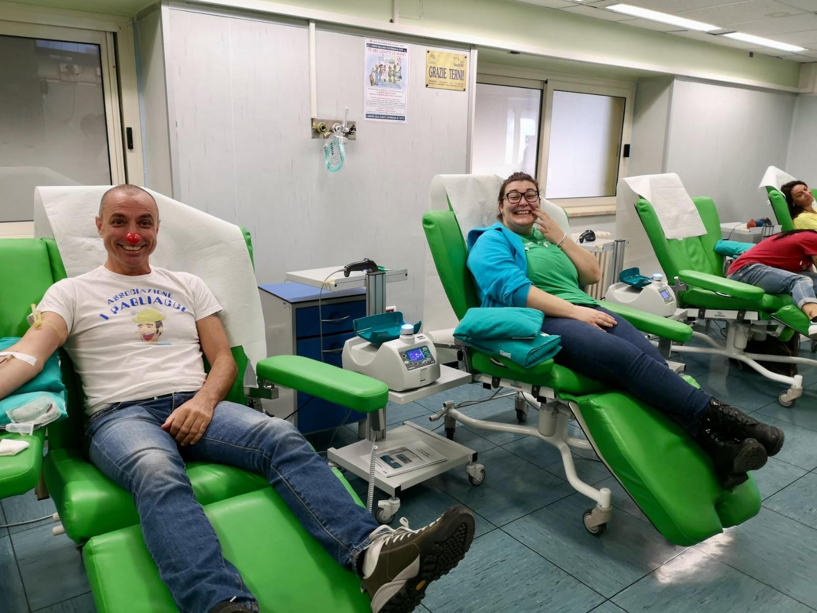 Ospedale di Terni, i donatori di sangue promuovono il SIT e le aperture domenicali
